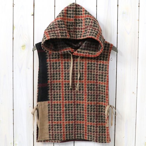 『Hooded Interliner-Gun Club Multi Check Knit』