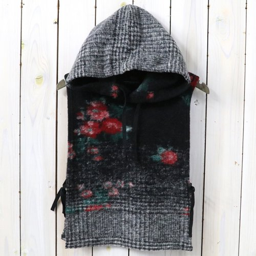 『Hooded Interliner-Floral Glen Knit』