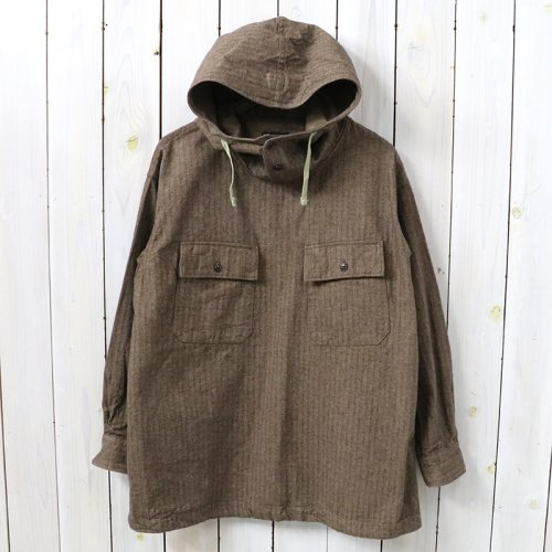 『Cagoule Shirt-Brushed HB』(Brown)