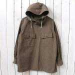 ENGINEERED GARMENTS『Cagoule Shirt-Brushed HB』(Brown)