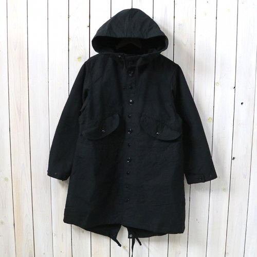 『Highland Parka-Cotton Double Cloth』(Black)