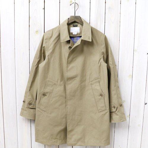 『GORE-TEX® Soutien Coller Coat-Cotton GORE』(Beige)