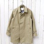nanamica『GORE-TEX® Soutien Coller Coat-Cotton GORE』(Beige)