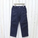 SASSAFRAS『FALL LEAF SUNSHINE PANTS(HBT)』(NAVY)