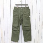 SASSAFRAS『FALL LEAF SUNSHINE PANTS(HBT)』(OLIVE)