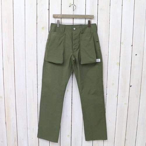 『DIGS CREW PANTS(NYLON OXFORD)』(OLIVE)