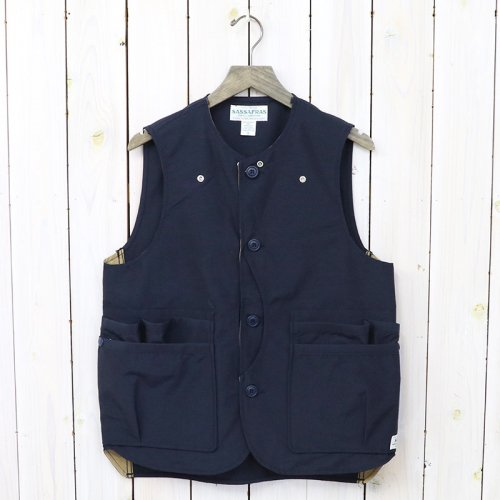 『WHOLE HOLE VEST(60/40)』(NAVY)