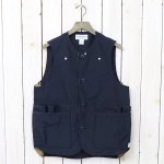 SASSAFRAS『WHOLE HOLE VEST(60/40)』(NAVY)