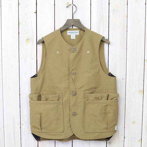 『WHOLE HOLE VEST(60/40)』(BEIGE)