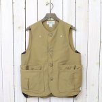 SASSAFRAS『WHOLE HOLE VEST(60/40)』(BEIGE)