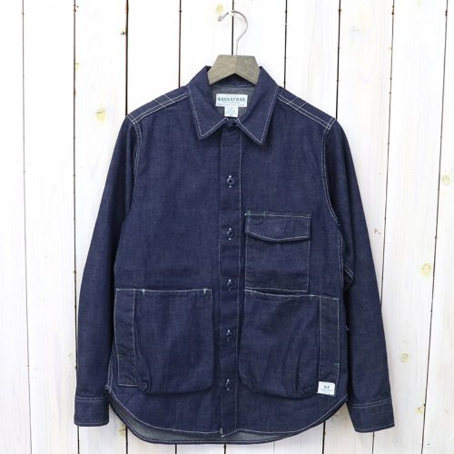 『DIGS CREW HALF(8oz DENIM)』(INDIGO)