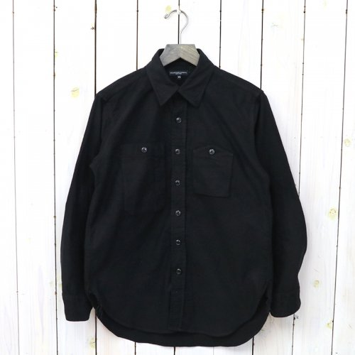 『Work Shirt-Cotton Flannel』(Black)