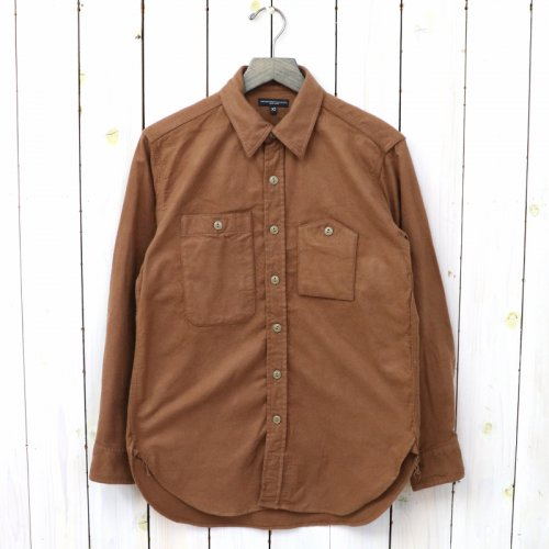 『Work Shirt-Cotton Flannel』(Tan)
