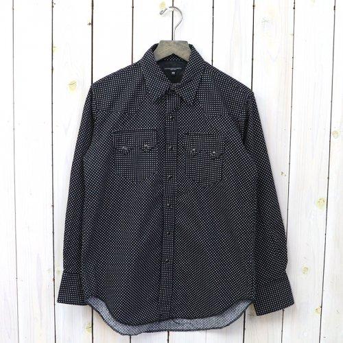 『Sawtooth Western Shirt-Polka Dot Print』