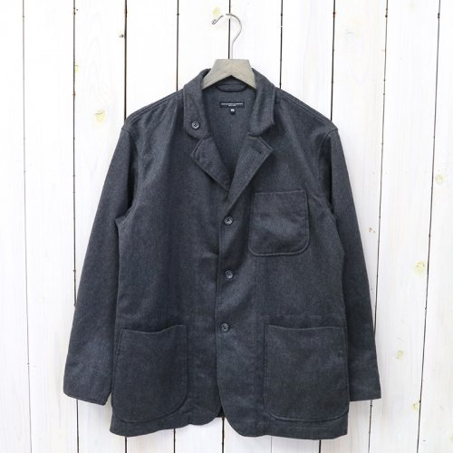 『Loiter Jacket-Wool Cotton Flannel』(H.Grey)