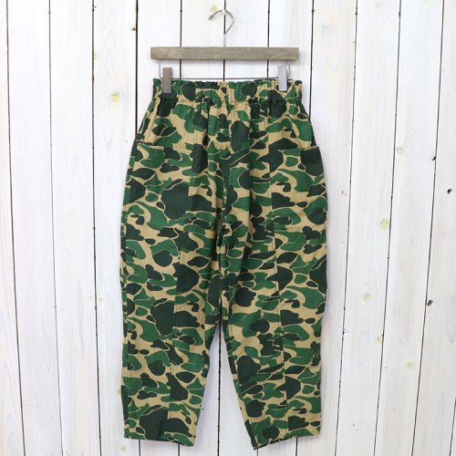 『Army String Pant-Printed Flannel/Camouflage』(Duck Hunter)
