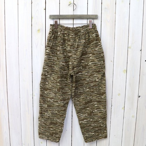 『Army String Pant-Printed Flannel/Camouflage』(Trout)