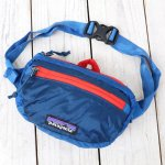 patagonia『Lightweight Travel Mini Hip Pack』(Balkan Blue)
