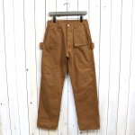 SASSAFRAS『WHOLE PRUNER PANTS(DUCK)』(BROWN)