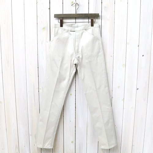 『McQueen PANTS TWILL』(STONE)