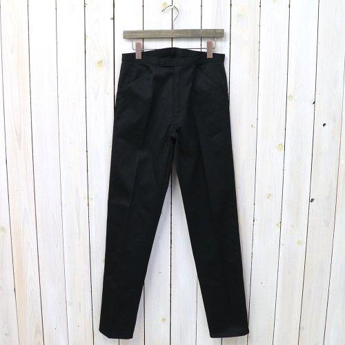 『McQueen PANTS TWILL』(BLACK)
