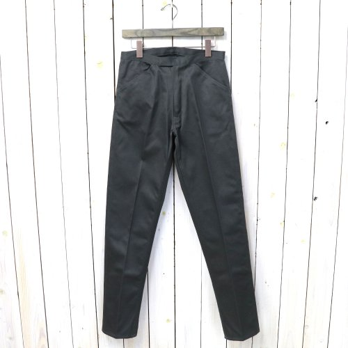 『McQueen PANTS TWILL』(CHARCOAL)