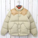 Rocky Mountain Featherbed『Down Jacket』(TAN)