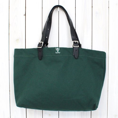 『18oz Canvas Canal Park Tote-Classic』(Hunter Green)