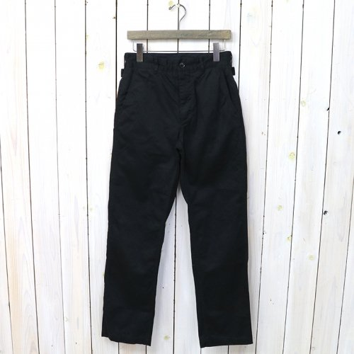 『Ground Pant-Chino Twill』(Black)