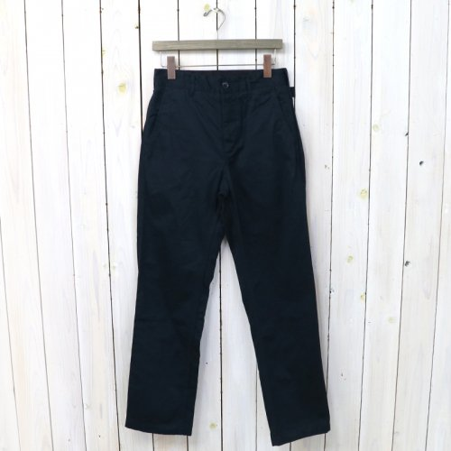 『Ground Pant-Chino Twill』(Dk.Navy)