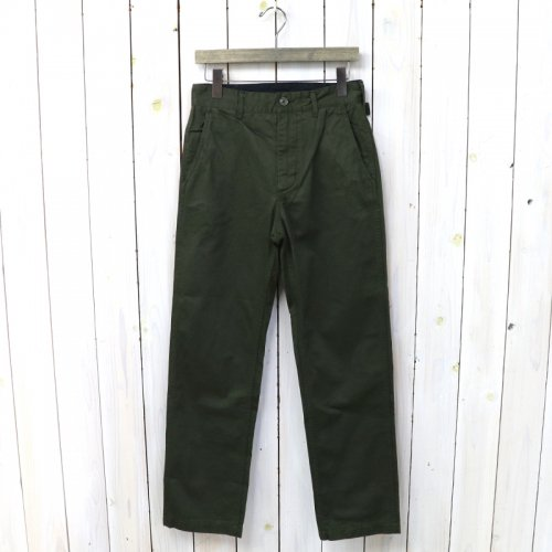 『Ground Pant-Chino Twill』(Olive)