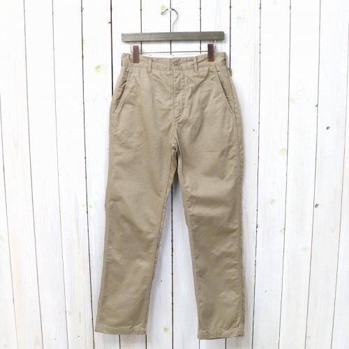 『Ground Pant-Chino Twill』(Khaki)