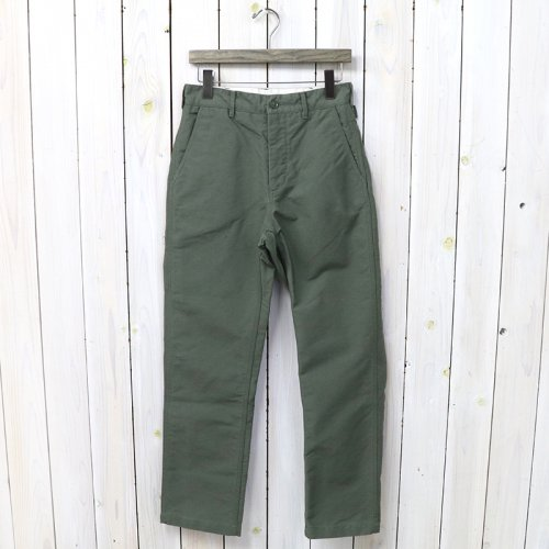 『Ground Pant-Cotton Double Cloth』