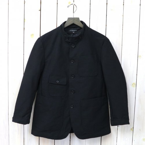 『Grim Jacket-Cotton Double Cloth』(Black)