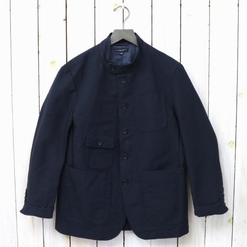 『Grim Jacket-Cotton Double Cloth』(Dk.Navy)