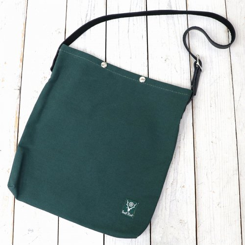 SOUTH2 WEST8『18oz Canvas Book Pack』(Hunter Green)