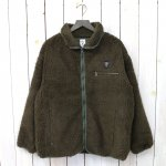 SOUTH2 WEST8『Piping Jacket-Synthetic Pile』(Olive)