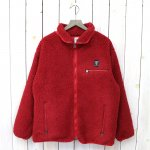 SOUTH2 WEST8『Piping Jacket-Synthetic Pile』(Red)