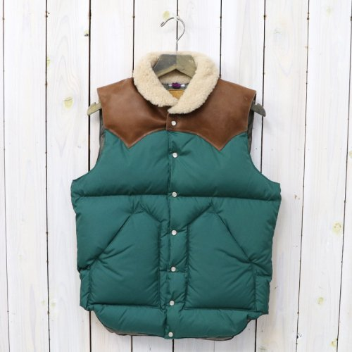 『NYLON CHRISTY VEST』(PINE GREEN)