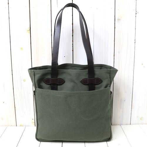 『TOTE BAG WITHOUT ZIPPER』(OTTER GREEN)