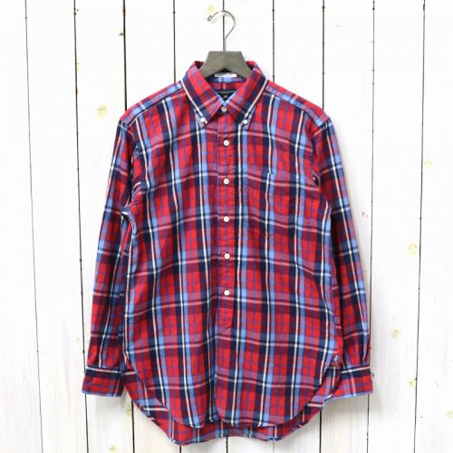 『19th BD Shirt-Brushed Plaid』(Red/Blue)