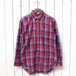 ENGINEERED GARMENTS『19th BD Shirt-Brushed Plaid』(Red/Blue)