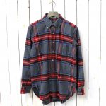 ENGINEERED GARMENTS『19th BD Shirt-Brushed Plaid』(Grey/Red)