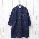 orSlow『PLEATED FRONT COAT』(ONE WASH)