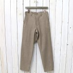 orSlow『FRENCH WORK PANTS(COTTON WOOL)』(KHAKI)