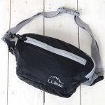 L.L.Bean『Stowaway Hip Pack』(Black)