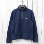 L.L.Bean『Sweater Fleece Pullover』(Bright Navy)