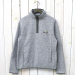 L.L.Bean『Sweater Fleece Pullover』(Grey Heather)