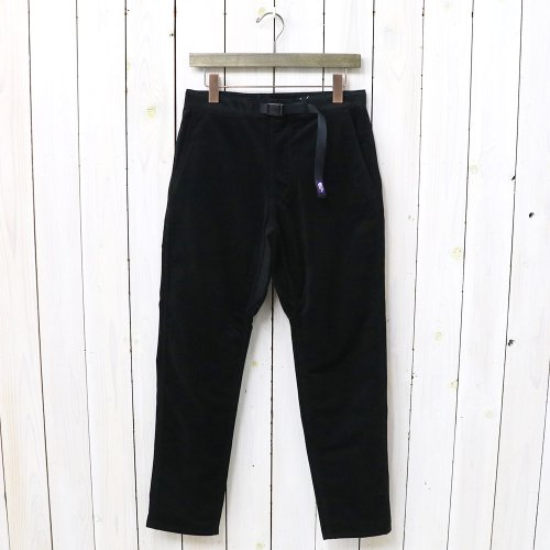 『Corduroy Field Pants』(Black)