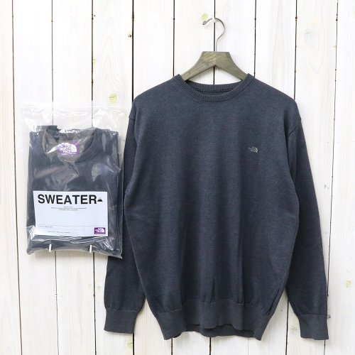 『Pack Field Sweater』(Charcoal)